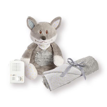 Babiage Doodoo Foxy + Decke grau