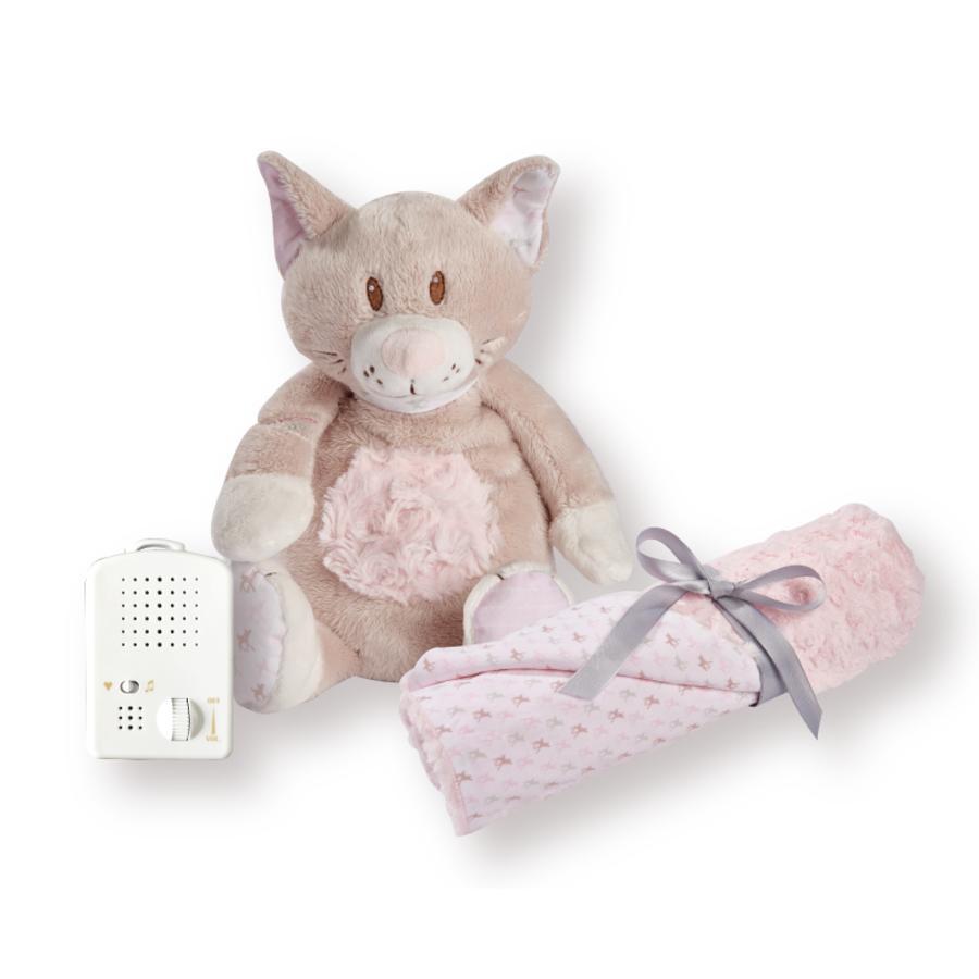 Babiage Doodoo Kitty + manta rosa