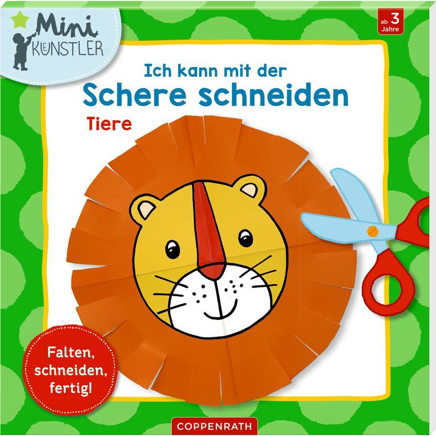 SPIEGELBURG COPPENRATH Ich kann mit der Schere schneiden: Tiere (Minikünstler)