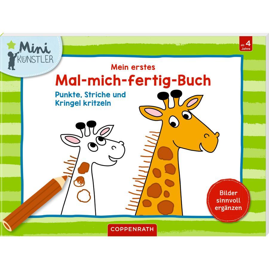 SPIEGELBURG COPPENRATH Mein erstes Mal-mich-fertig-Buch (Minikünstler)