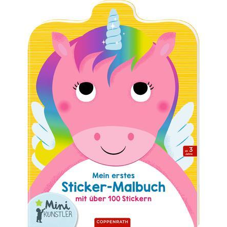 SPIEGELBURG COPPENRATH Mein erstes Sticker-Malbuch: Einhorn (Minikünstler)