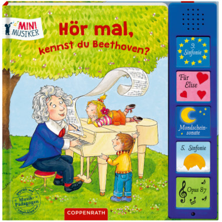 SPIEGELBURG COPPENRATH Sag mal, kennst du Beethoven? (Mini-Musiker)
