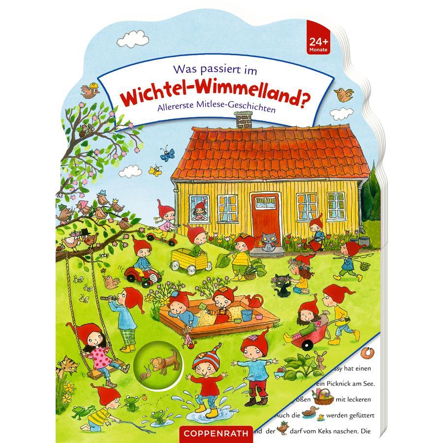SPIEGELBURG COPPENRATH Was passiert im Wichtel-Wimmelland? (Mitlesegesch.)