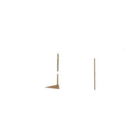 roba Bac à sable enfant, banc dépliable bois