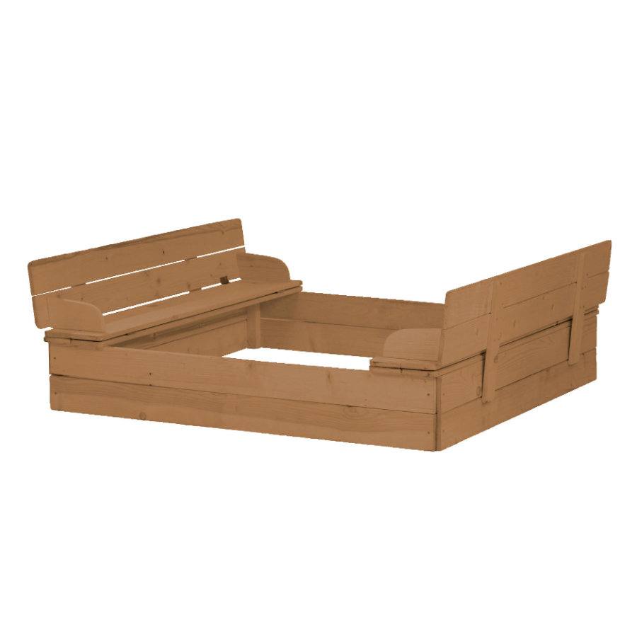 roba Sandkasten, aufklappbare Sitzbank