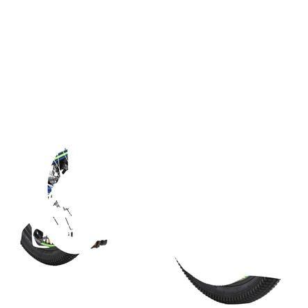 """Bikestar rower dziecięcy Alu Hardtail Mountain rower 20"""", niebieski/zielony"""