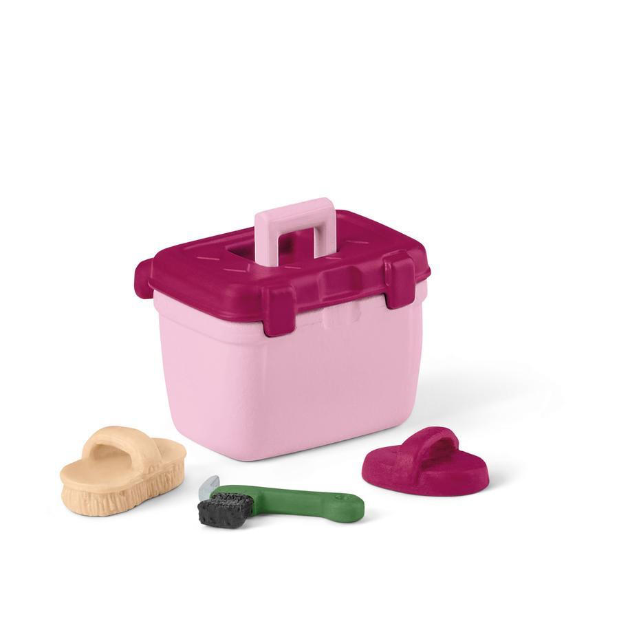 Schleich Figurine accessoires de toilettage pour spectacle équestre 42463
