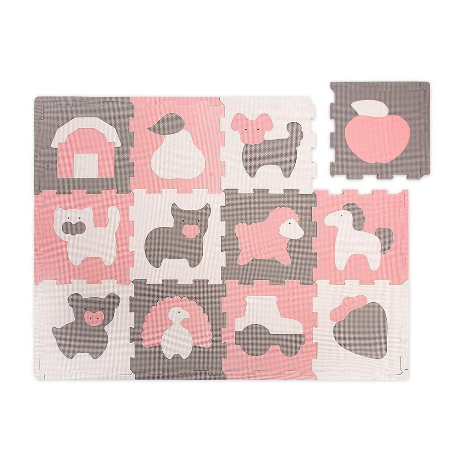 Hakuna Matte Puzzle mat - gård (120 x 90 cm)