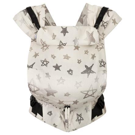 Hoppediz Neugeborenen Babytrage Primeo Jacquard Singapur Grey