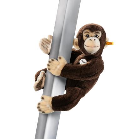 Steiff Jocko Magneet-Chimpansee 50cm, donkerbruin