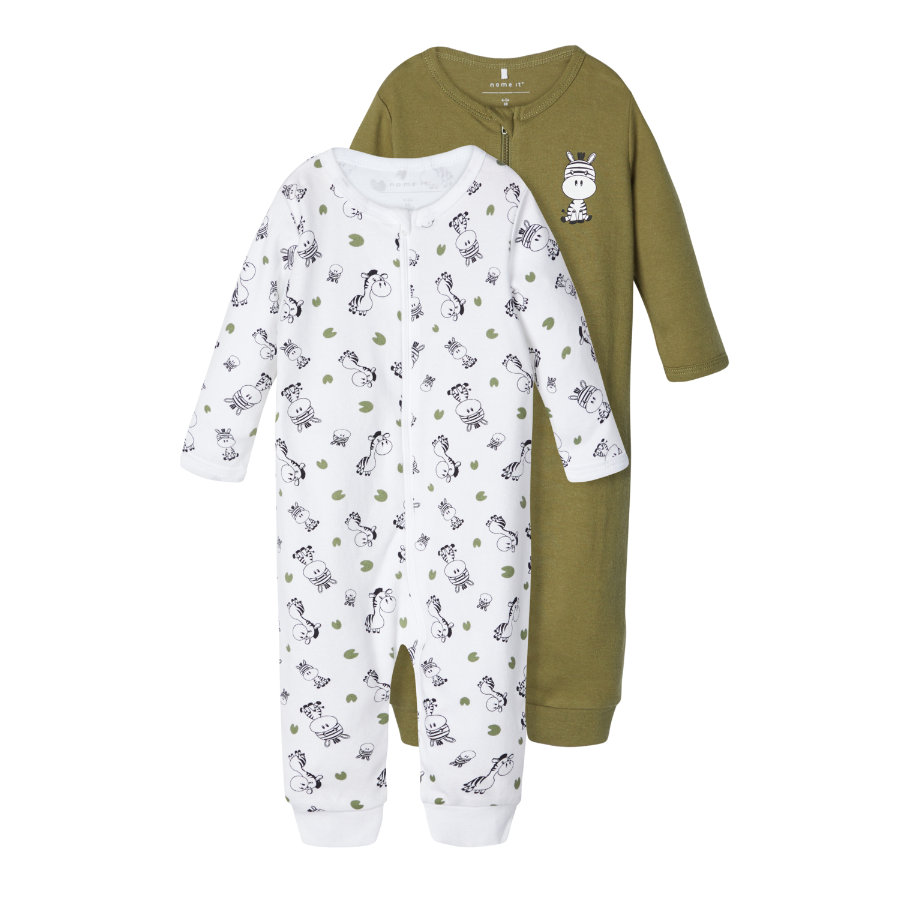 name it Sovande overall NBM NIGHT SUIT Loden Green