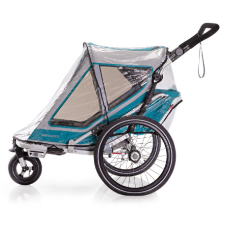 Qeridoo® Regenschutz für Kinderfahrradanhänger Speedkid1