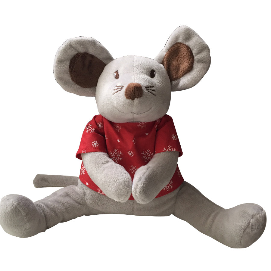 Babiage Doodoo Mouse Natale rosso