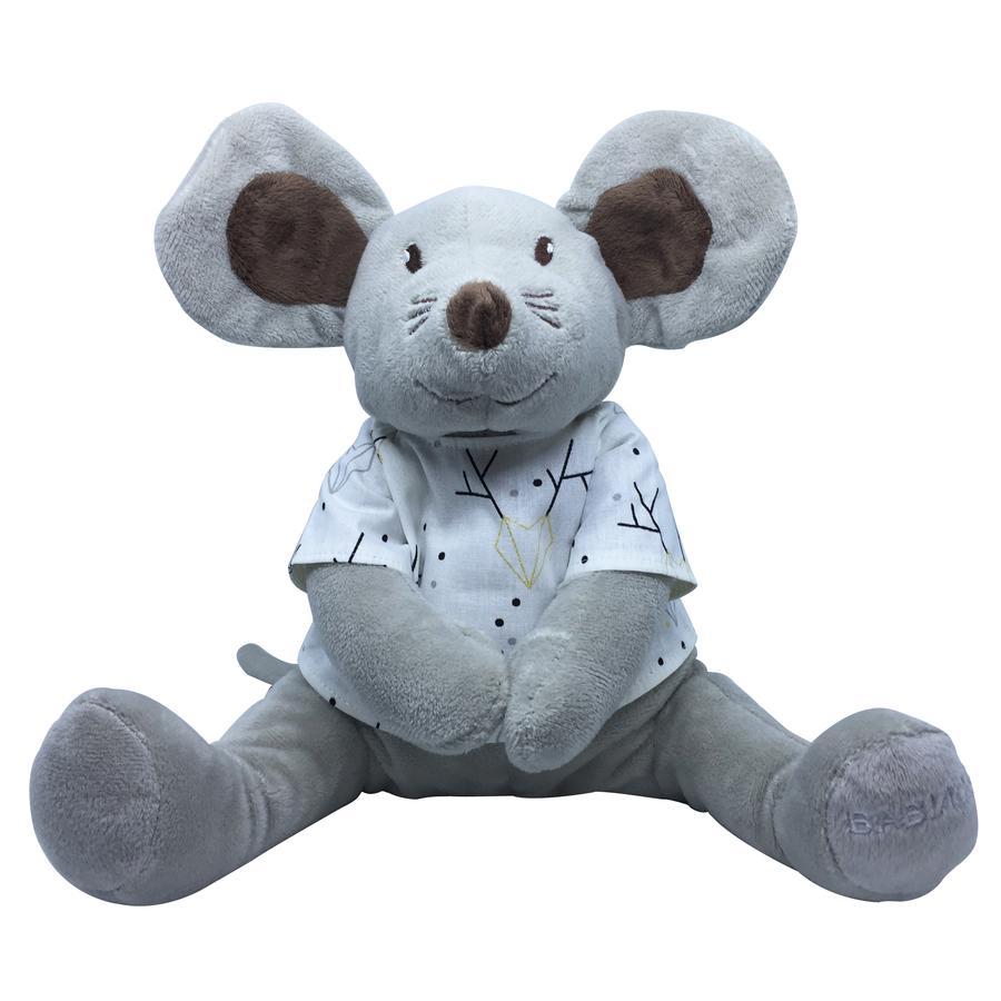 Babiage Doodoo Mouse Xmas grau-braun