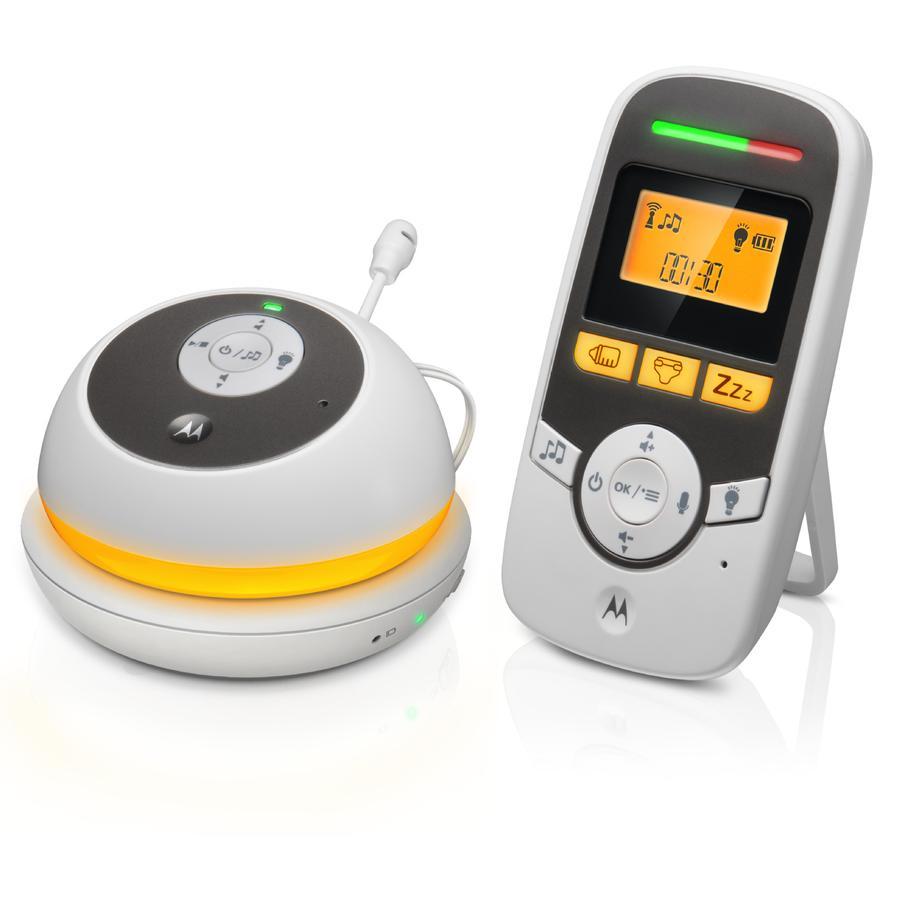 """Motorola Babyphone audio numérique MBP169 1,5"""" LCD"""