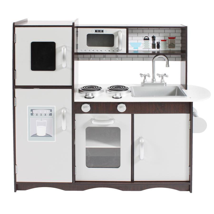 BAYER CHIC 2000 Cocina de juego de madera marrón