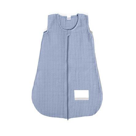 LITTLE Sovepose Vaffel Pique brugt blå