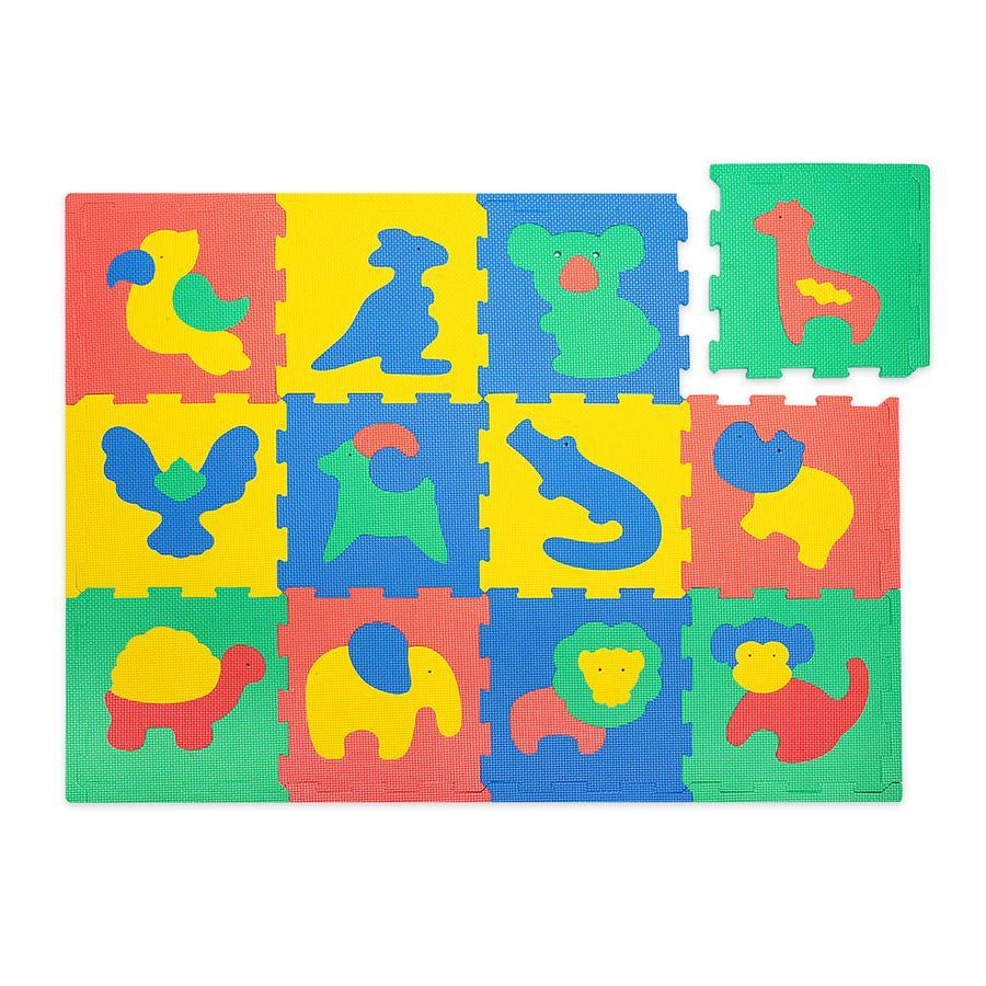 Hakuna Matte Puzzlematte - Safari animals (120 x  90 cm)