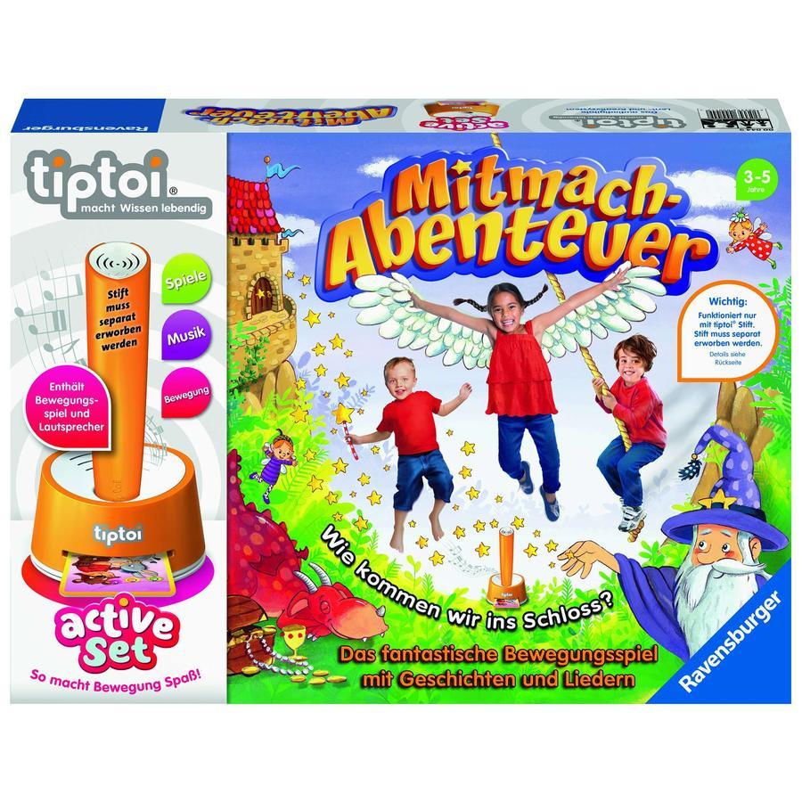 Ravensburger tiptoi® active Set Mitmach-Abenteuer