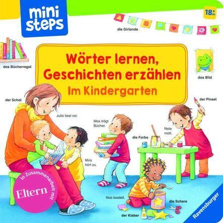 Ravensburger ministeps® Wörter lernen, Geschichten erzählen: Im Kindergarten
