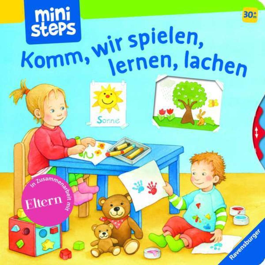 Ravensburger ministeps® Komm, wir spielen, lernen, lachen