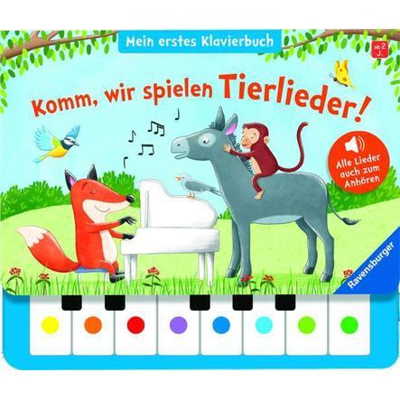 Ravensburger Komm, wir spielen Tierlieder! Mein erstes Klavierbuch