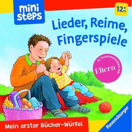 Ravensburger ministeps® Mein erster Bücher-Würfel: Reime, Lieder, Fingerspiele