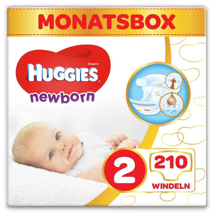 Huggies Newborn Babyluiers voor pasgeborenen Maat 2 210 stuks