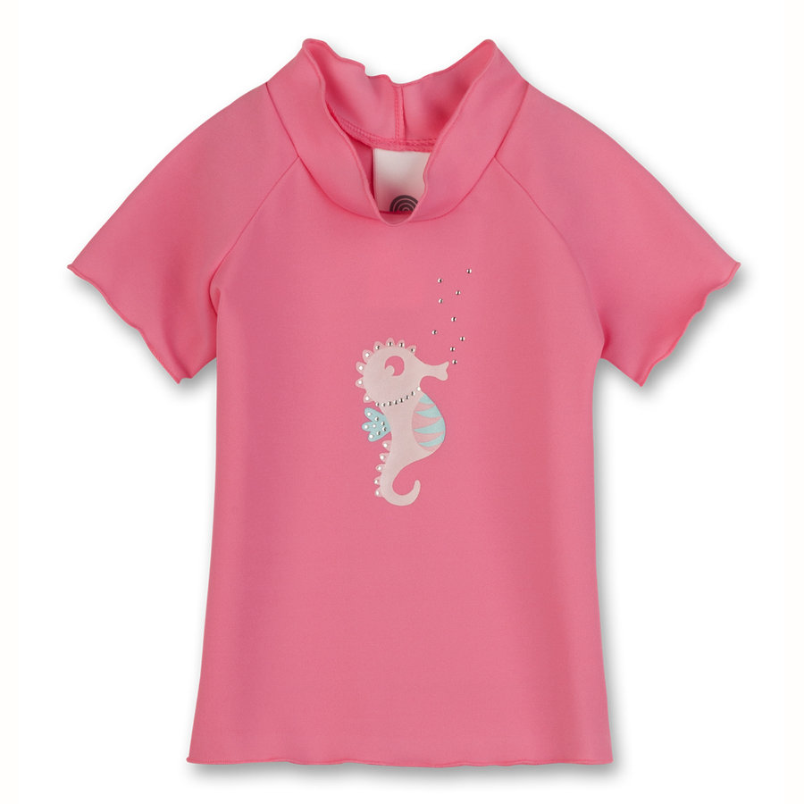 SANETTA Girls Baby UV-Schutz Shirt rosé
