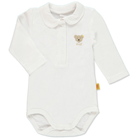STEIFF Girls Baby Body Manica 1/1 bright white