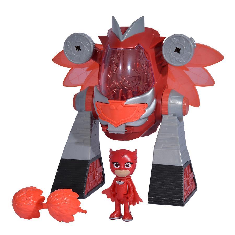 Simba PJ Mask Turbo Robot Owl