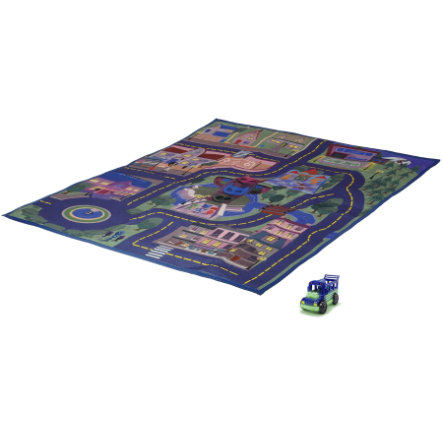 DICKIE Toys Tapis de jeu circuit phosphorescent Pyjamasques