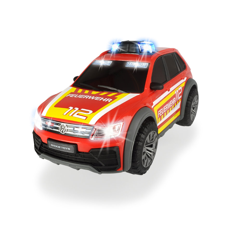 DICKIE Leker VW Tiguan R-Line Brannbil