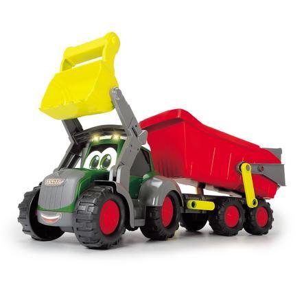 DICKIE Toys Tracteur à remorque happy farm