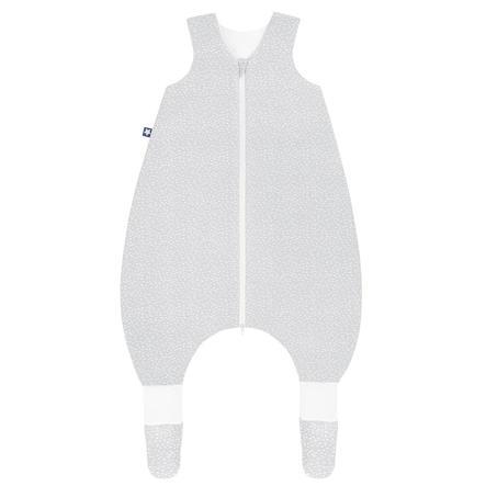 JULIUS ZÖLLNER Jersey Jumper Plus Tiny Squares Grey
