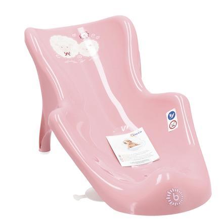 bieco Badewannensitz Trend rosa