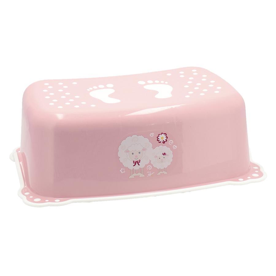 Bieco step antislip trend pink