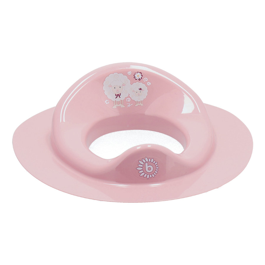 bieco Réducteur de toilettes enfant Trend rose