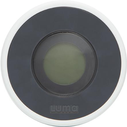 Luma ® Babyvård Badtermometer Digital i mörkgrå