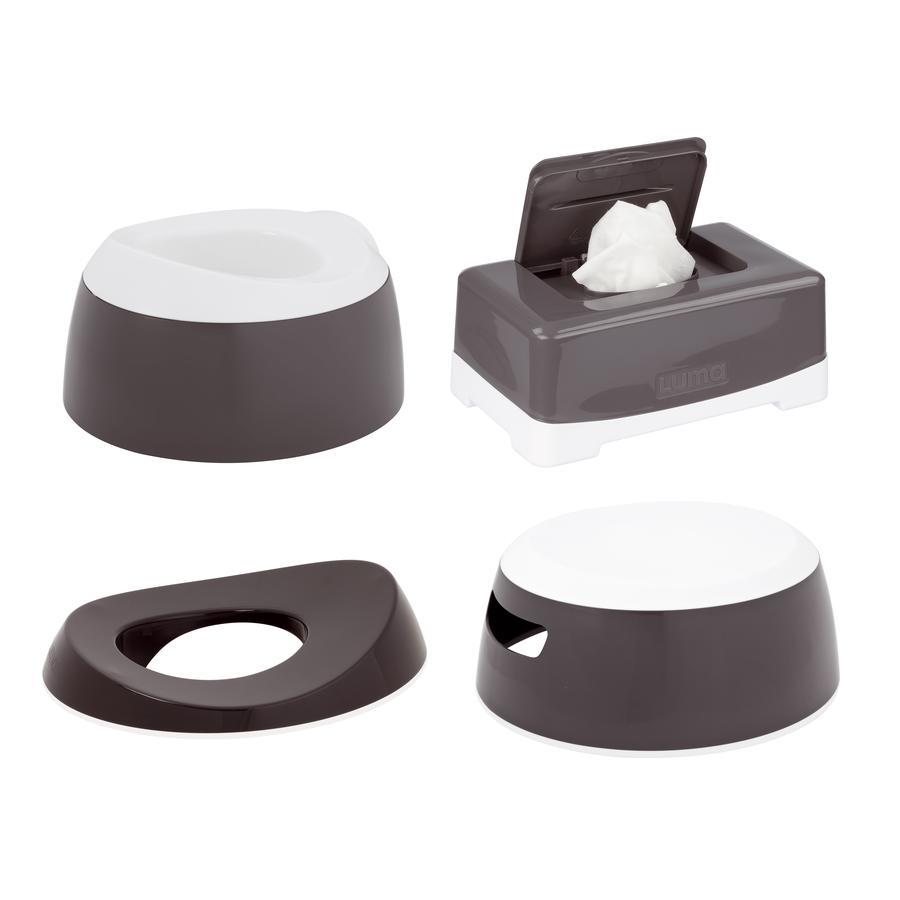 Luma® Babycare Toalett Träningsset Dark Grey