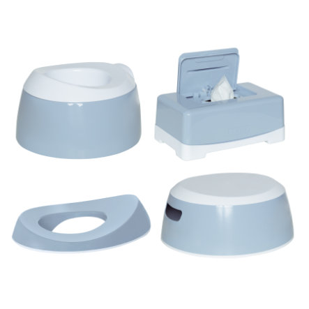 Luma® Babycare Kit réducteur de toilettes et pot enfant Celestial Blue