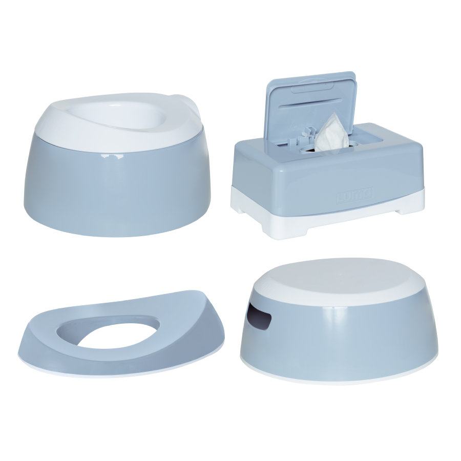 Luma ® Baby care  Toilet Training Set Hemels Blauw
