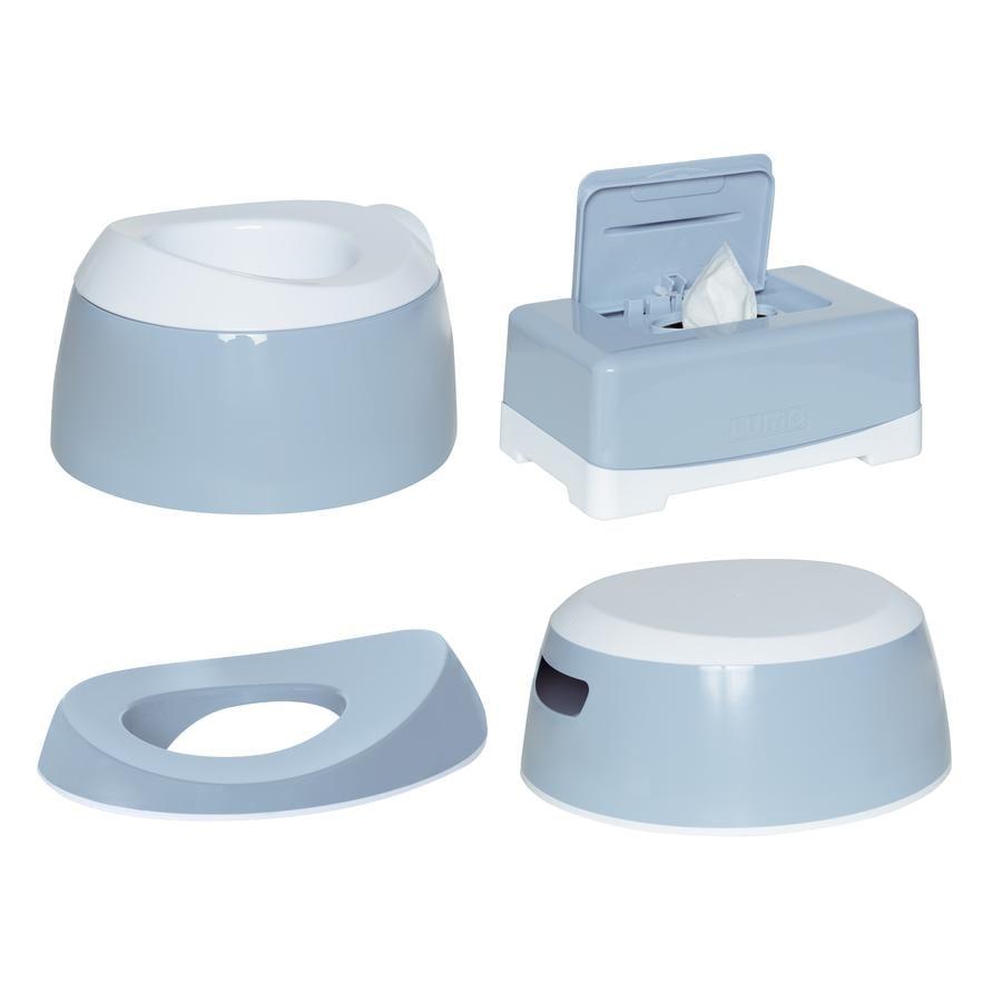 Luma ® Baby care  Zestaw do nauki korzystania z toalety Celestial Blue