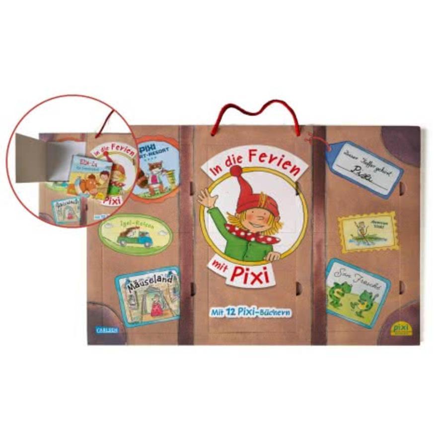 CARLSEN Pixis großer Reisekoffer mit 12 Pixi-Büchern