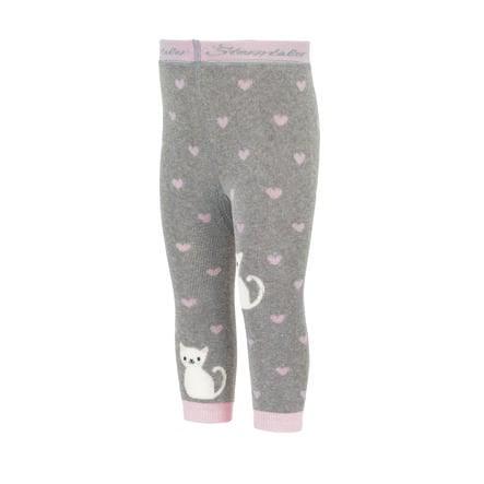 Sterntaler Leggings cat grigio chiaro melange