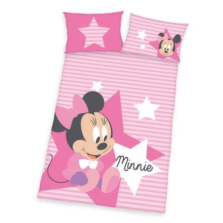 HERDING ropa de cama Minnie de Disney Mouse rosa 100 x 135 cm