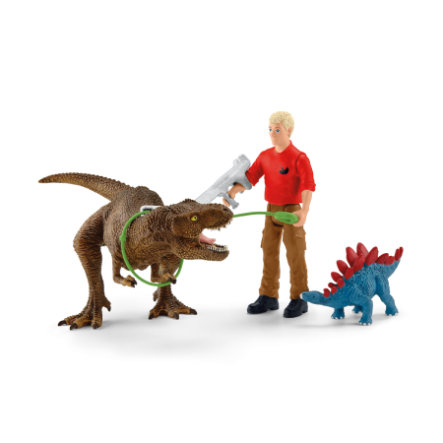 Schleich Tyrannosaurus Rex Angriff 41465