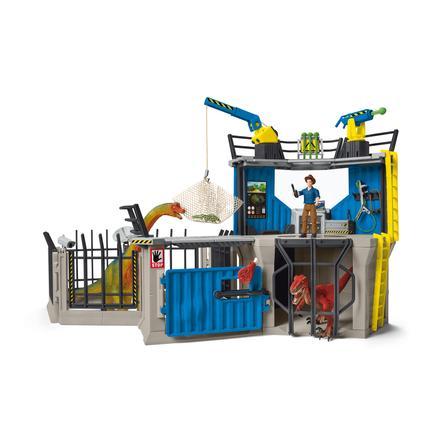 Schleich Figurine grande station de recherche dinosaure 41462