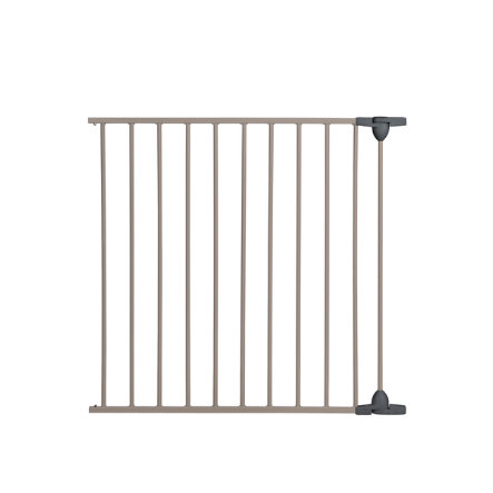 Safety 1st Absperrgitter Modular Gate - 3er Panels mit Tür, light grey