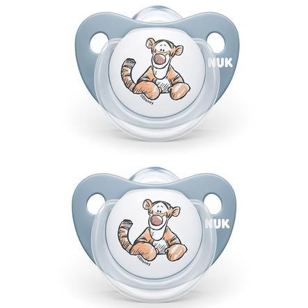 NUK Schnuller Trendline Disney Winnie Puuh Gr. 1 ab der Geburt 4 Stück